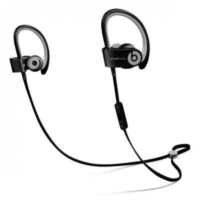Apple headset: Powerbeats2 Wireless - Zwart, Grijs