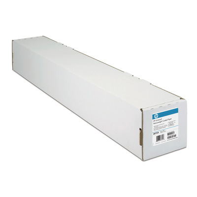 HP Papier met coating, 95 gr/m², 458 mm x 45,7 m Grootformaat media