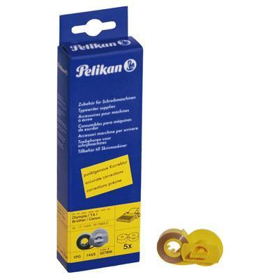 Pelikan printerlint: 5 Lift-off-Tapes - Geel