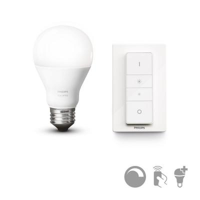 Philips personal wireless lighting: hue Draadloze dimmerset E27 8718696452523 - Wit