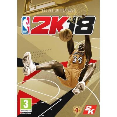 2k game: NBA18 Legend Edition Gold