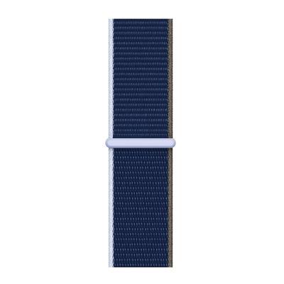 Apple Geweven sportbandje - Diepdonkerblauw (40 mm)
