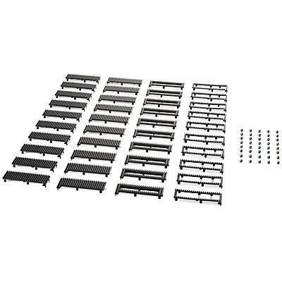 Hp drive bay: (10 Pk) 600/800 TWR Bezel Support Kit - Zwart