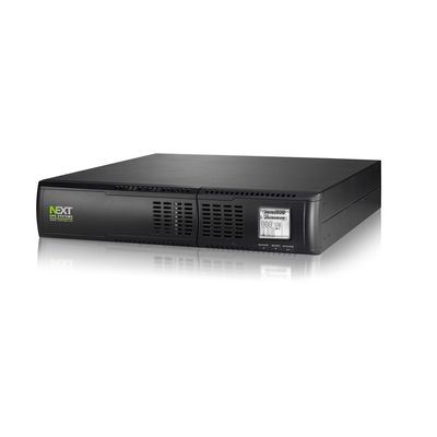 NEXT UPS Systems Mantis 1100 RT2U UPS - Zwart
