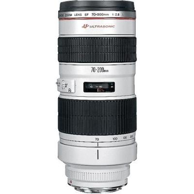 Canon camera lens: EF 70-200mm f/2.8L USM - Wit