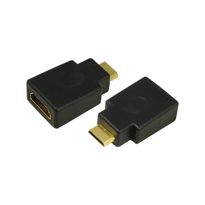 LogiLink AH0009 Kabel adapter - Zwart