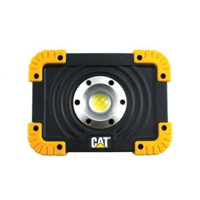 Cat work light: LED, 1100 lm, Li-Ion 6.5h, Water & impact resistant - Zwart, Geel