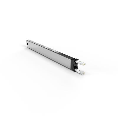PATCHBOX ® 365 Cat.6a Cassette (STP, White, 0.8m / 8RU) Netwerkkabel - Wit