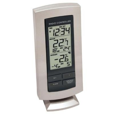Technoline weerstation: WS 9140-IT - Temperature Station - Zwart, Zilver