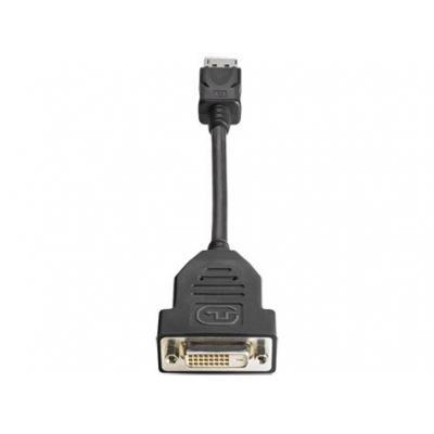 HP DisplayPort - DVI-D Refurbished Kabel adapter - Zwart - Refurbished ZG