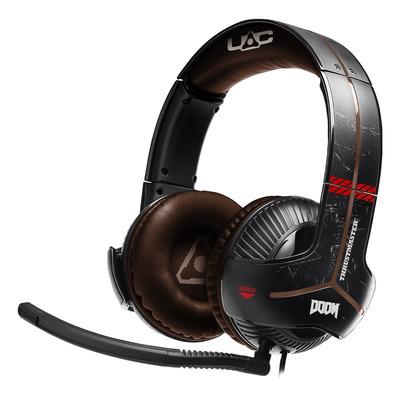Thrustmaster headset: Y-350X Doom - Zwart, Bruin