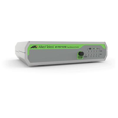Allied Telesis FS710/5E Switch - Groen, Grijs
