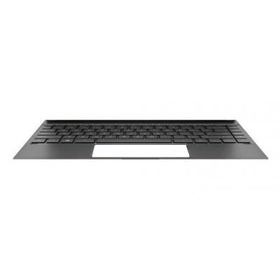 HP Keyboard/top cover with backlight (includes backlight cable and keyboard cable) For use only on computer models not .....