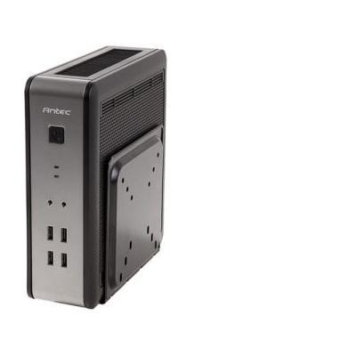 Antec behuizing: ISK 110 VESA-EU - Zwart, Zilver