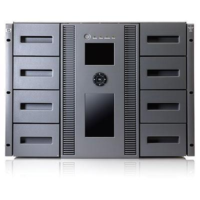 Hewlett packard enterprise tape autoader: HP StorageWorks MSL8096 2 LTO-5 Ultrium 3280 Fibre Channel Tape Library