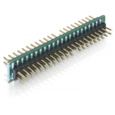 DeLOCK IDE/IDE Kabel adapter - Zwart,Groen