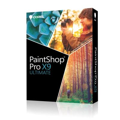 Corel grafische software: PaintShop Pro X9 Ultimate Mini-Box ML