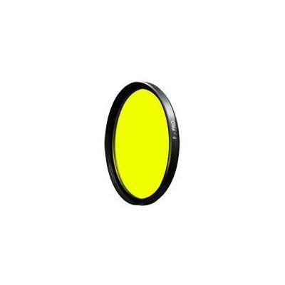 B+w camera filter: 46mm Medium Yellow SC (022) - Zwart