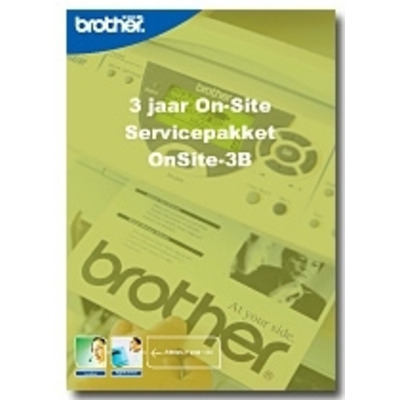 Brother Service Pack:OnSite-3B Garantie