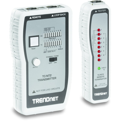 Trendnet TC-NT2 Network analyzer - Blauw, Wit