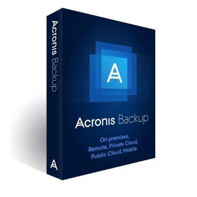 Acronis software licentie: Rnwl, Backup Adv. PC 11.7, AAP, 3Yr, ESD, 1-9 U