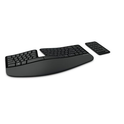 Microsoft toetsenbord: Sculpt Ergonomic for Business - Zwart, QWERTY