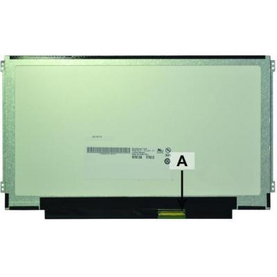 "2-power notebook reserve-onderdeel: 29.464 cm (11.6 "") , HD, 1366x768, LCD, 231g - Multi kleuren"
