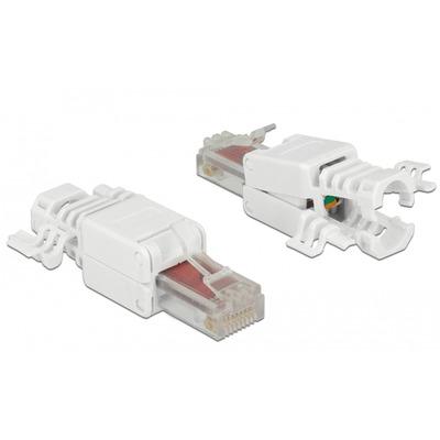 DeLOCK 86416 Kabel connector - Wit