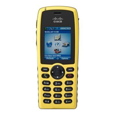 Cisco IP telefoon: 7925G - Zwart, Geel