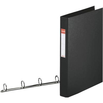 Esselte ringband: Standard Ring Binders , PP Black 4x25 mm - Zwart