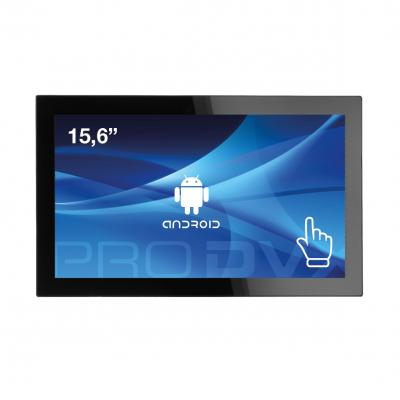 """Prodvx all-in-one pc: APPC-15DSQP 15"""" Android Tablet PC PoE 15.6"""" Quad Core 1920 x 1080 IPS - Zwart"""