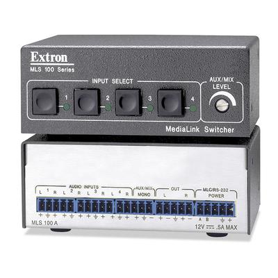 Extron MLS 100 A Video switch - Zwart,Wit