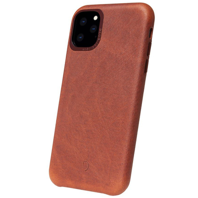 Decoded Leather Backcover iPhone 11 Pro Max - Bruin - Bruin / Brown Mobile phone case