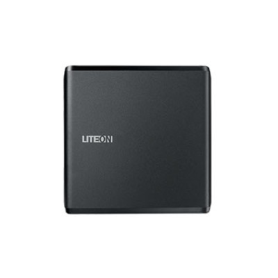 Lite-on brander: CD/DVD, 130/185 ms, USB 2.0, 139 x 139.3 x 13.5 mm, 220 G - Zwart
