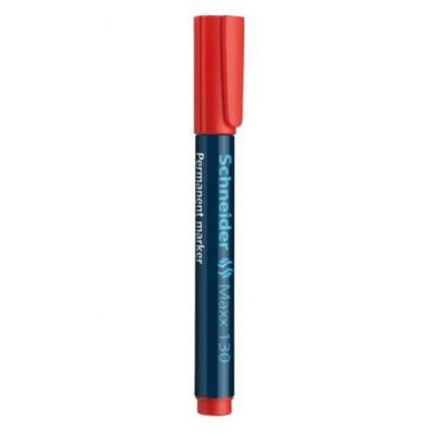 Schneider marker: Maxx 130 - Zwart, Rood
