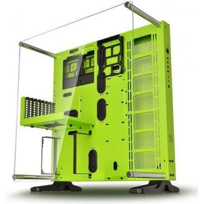 Thermaltake behuizing: Core P5 Green Edition - Zwart, Groen
