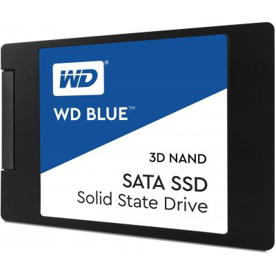 "Western digital SSD: 500 GB, SATA 6Gb/s, 6.35 cm (2.5 "") 7mm, SSD - Zwart"