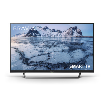 Sony KDL-40WE665 Led-tv - Zwart,Zilver