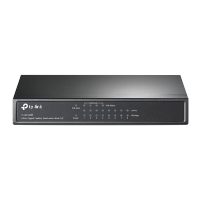 TP-LINK TL-SG1008P Grijs Switch