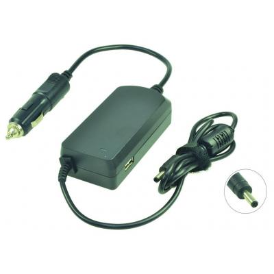 2-power netvoeding: DC Car Adapter 19.5V 2.31A 45W - Zwart