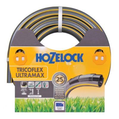 Hozelock tuinslang: Tricoflex Ultramax slang Ø 25 mm 50 meter - Grijs, Geel