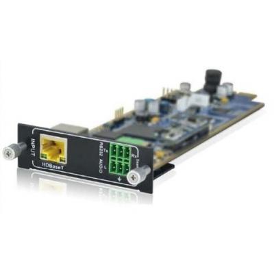 PTN-Electronics Seamless HDBaseT + audio inputkaart Interfaceadapter - Zwart, Groen, Geel