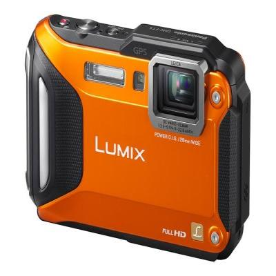 Panasonic digitale camera: Lumix DMC-FT5 - Oranje