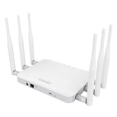Engenius wireless router: IEEE 802.11 ac/a/b/g/n, 450Mbps + 1300Mbps, WEP/WPA/WPA2, IPv4/IPv6 - Wit