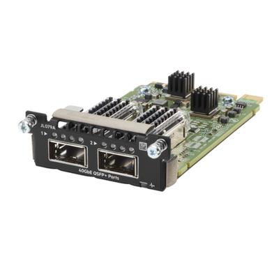 Hewlett Packard Enterprise Aruba 3810M 2QSFP+ 40GbE Module Netwerk switch module