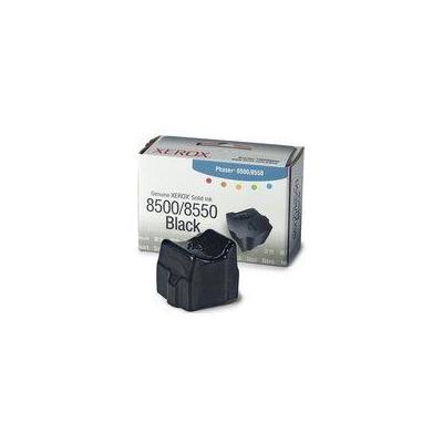 Xerox inkt stick: Black Solid Ink for Phaser 8500/8550 - Zwart