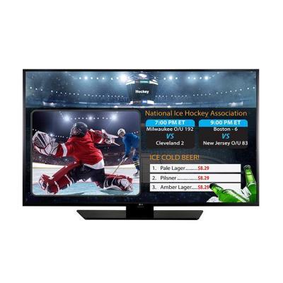 """Lg led-tv: 109.22 cm (43 """") , LED Edge, 1920 x 1080, 300cd/m2, 10W + 10W, MHL, Triple XD Engine, Black - Zwart"""