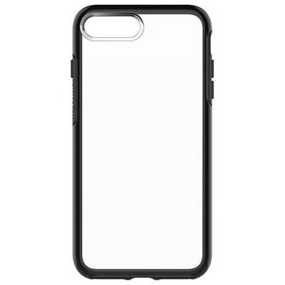 Otterbox mobile phone case: Symmetry Clear iPhone 7 PLUS - Black Crystal - Zwart, Transparant