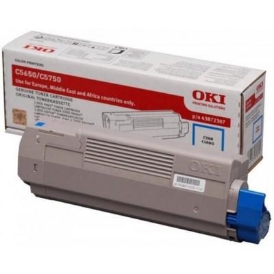 OKI cartridge: Cyan toner for C5650 / C5650 / C5750