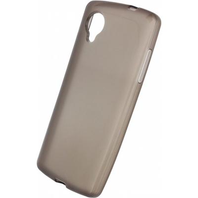 Mobilize Gelly Case / Hoesje Smokey Grey LG Nexus 5 Mobile phone case - Grijs, Doorschijnend